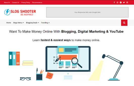 Blogger Template Slog Shooter