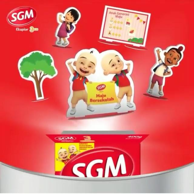 Dapatkan Koleksi Mainan Upin Ipin Dalam Kemasan Khusus SGM Eksplor Dan Menangkan Hadiahnya!!