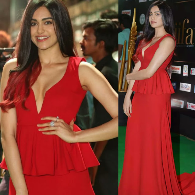 Adah Sharma At IIFA In Label D