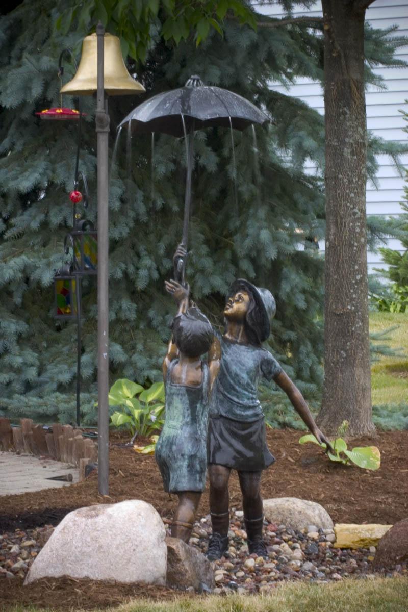Stsatuette For Outdoor Ponds: Aquascape Your Landscape: Fountains Aflow In The Garden