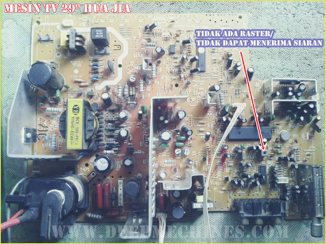"PerbaikanTidak dapat Menangkap Siaran Mesin TV China ""HUA JIA"" 29-Inc"