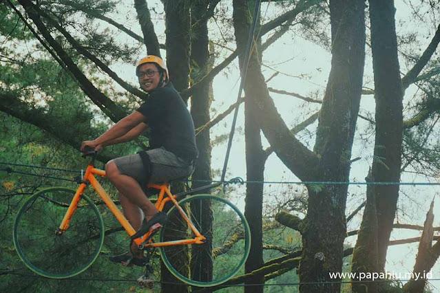 Dag Dig dug Ser Sensasi Sepeda Gantung