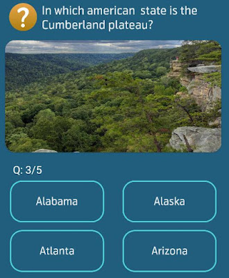 In which american state is the Cumberland plateau?
