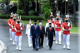 Jokowi Lantik Rusdy Mastura dan Ma'mun Amir Pimpin Sulawesi Tengah Hingga 2024