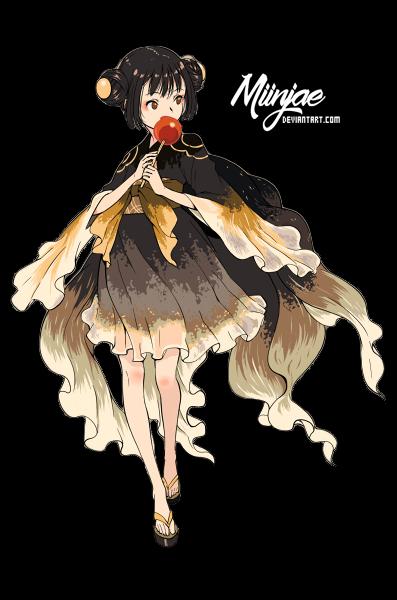 Render: Girl goldfish 02 by MiinJae
