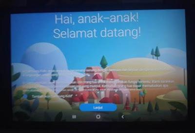 Beranda Anak Samsung Galaxy Tab A