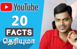 20 Amazing Facts about YouTube | Tamil Tech