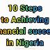 10 Steps to Achieve Financial Success in Nigeria