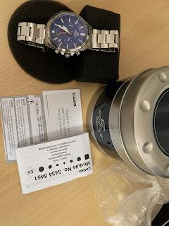 Đồng hồ NAM Casio Men's Edifice Quartz Watch EFV-510D-2AVCF - 3