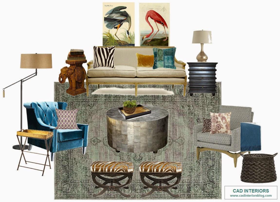 CAD Interiors Design virtual interior e-design decorating
