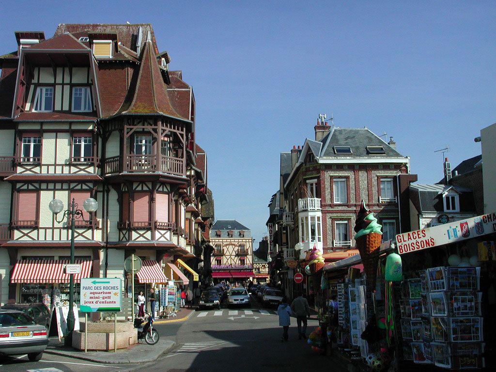 Город Этрета во Франции