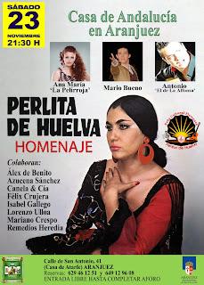Peña cultural flamenca: Perlita de Huelva