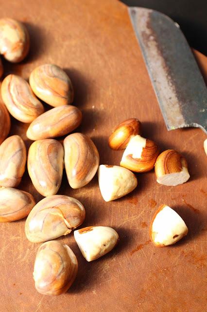 graines fruit du jacquier recette