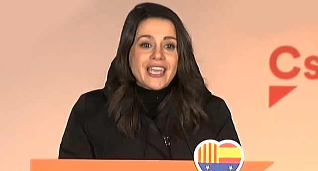Un tuit desmonta la estrategia política de Inés Arrimadas