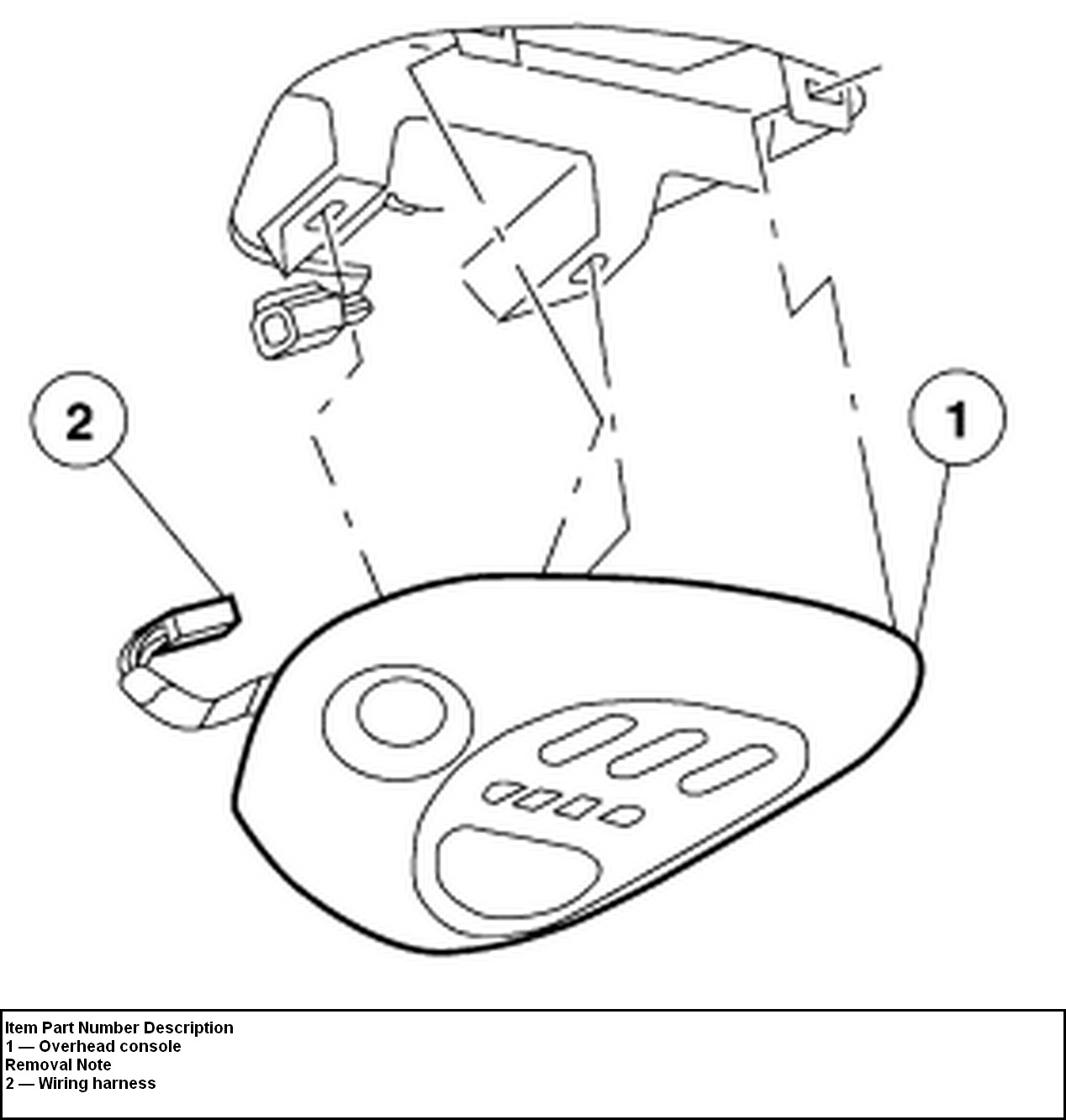 1999 Ford F 150 Overhead Console Wiring Diagram 2012