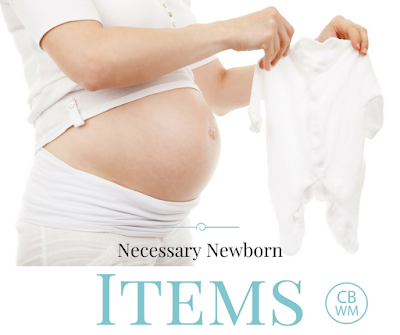 Necessary Newborn Items. What baby layette items are actually necessary and what are just nice to have. Know which items to put on your baby registry.
