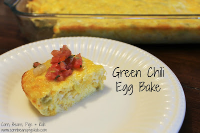 Mother's Day Brunch - Green Chili Egg Bake