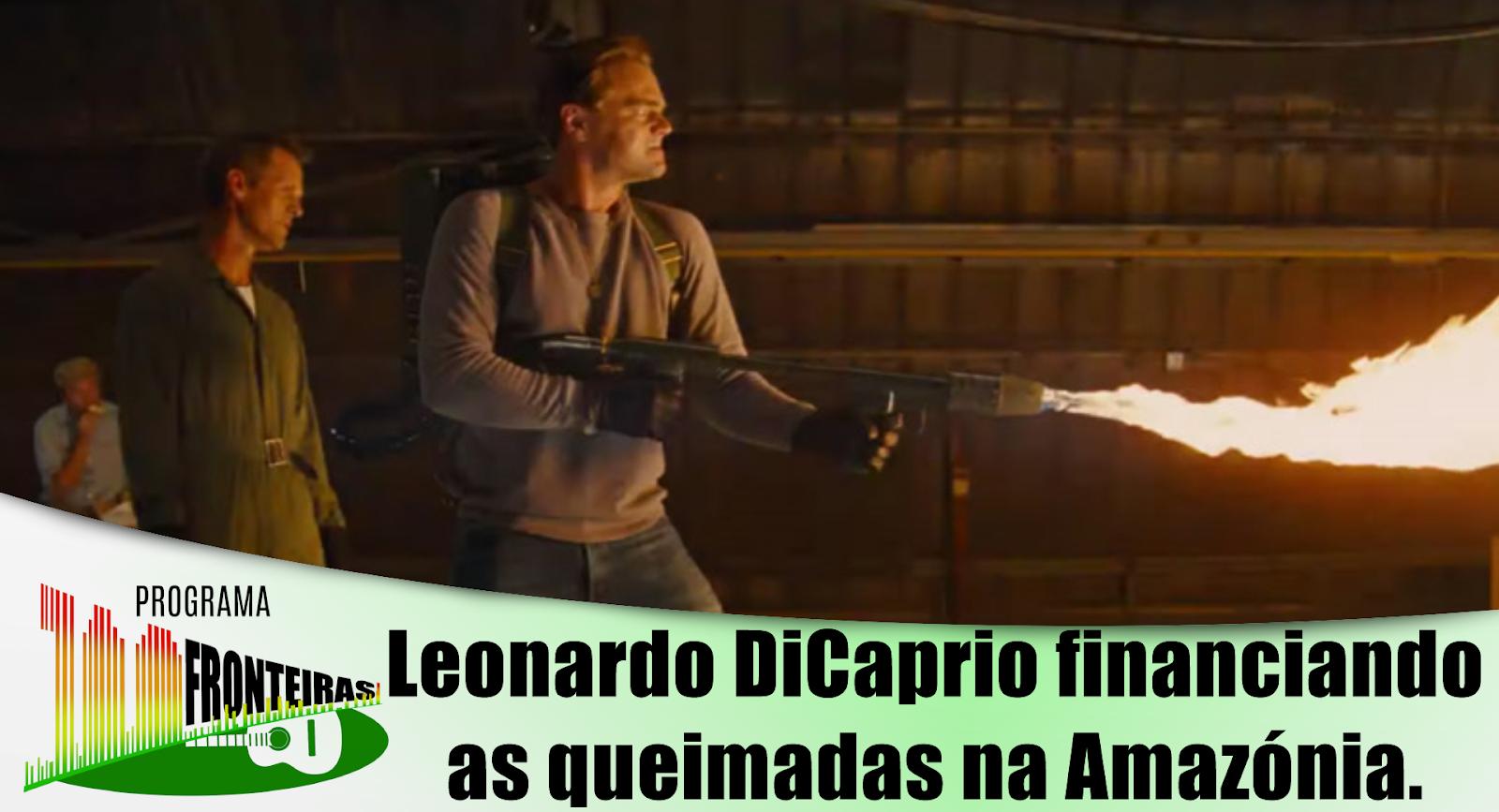 J. Alves fala sobre Leonardo DiCaprio financiando as queimadas | Programa 100 Fronteiras
