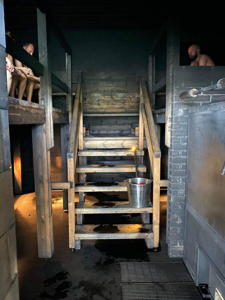 Löyly Helsinki Smoke Charcoal Sauna in Finland
