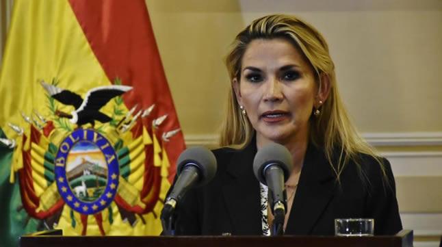 Presidenta Áñez ratifica que no habrá impunidad y confirma continuidad de proceso contra Morales
