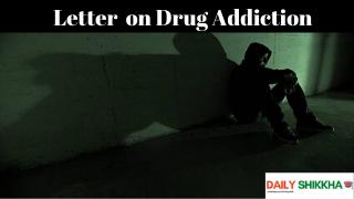 involved in drug addiction letter
