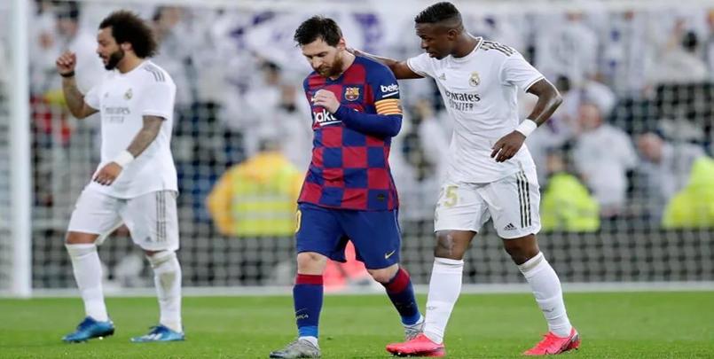 رياضة : أزمة في برشلونة بسبب ريال مدريد !