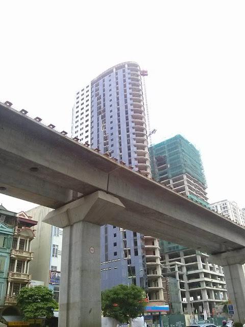 Tiến độ thực tế dự án chung cư Ellipse Tower 110 Trần Phú Hà Đông
