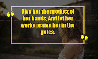 How to be a good woman according to the bible