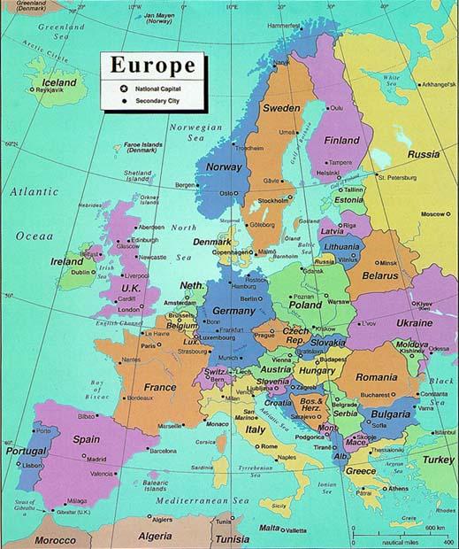 Poliittinen Kartta
