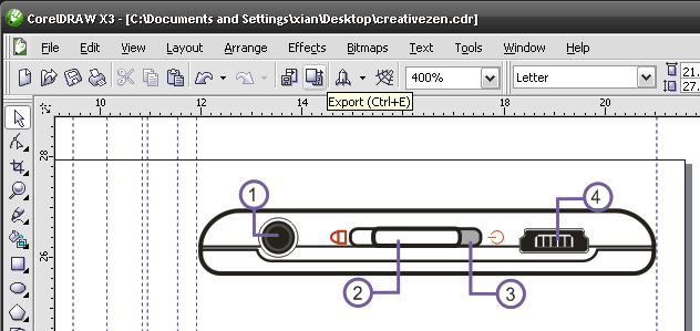 CorelDraw Basics: Exporting to SVG for HTML5 web pages