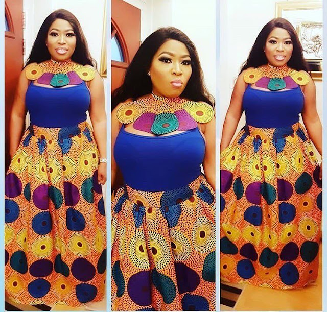Check Out These African Fashion Ankara Maxi Dress Styles 2018 [Video]