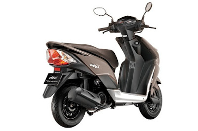 Honda Dio 110cc scooter rear view shot