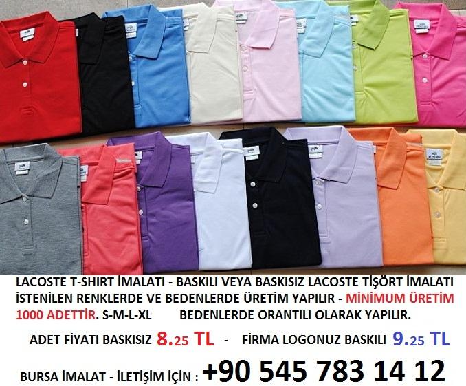 lakost tişört imalatı yapan firmalar en ucuz lakost tişört