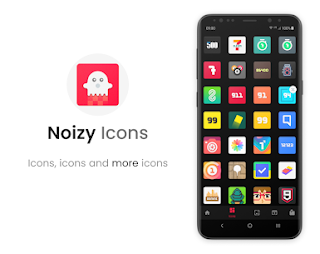 Noizy – Icon Pack v2.8.4 [Patched] APK