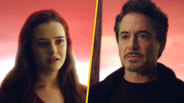 Por fin sale a la luz la escena de la ensoñación tras chasquido de Iron Man en Endgame