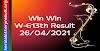 Win Win W 613 Lottery Result 26.4.2021