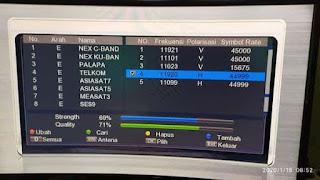 Frekuensi Dan Chanel Nex Parabola Terbaru di Satelit SES 9