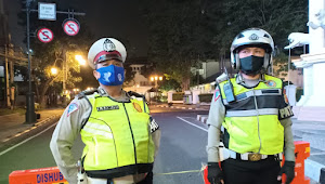 Satlantas Polrestabes Bandung Berlakukan Buka Tutup Jalan