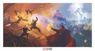 New York Comic Con 2020 Exclusive Marvel Cinematic Universe Concept Art Prints by Ryan Meinerding, Andy Park & Grey Matter Art