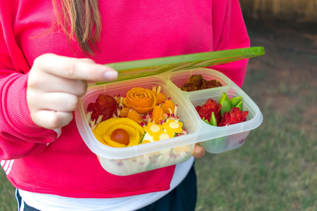 How to Make a Flower Garden School Lunch Recipe Plus Learn Food Safety Tips!