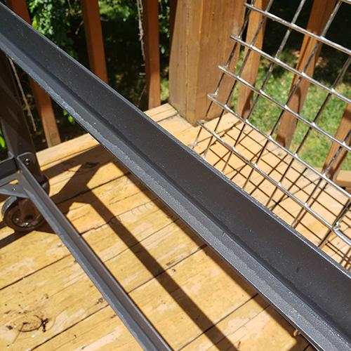 Side rail of the BGE Modular Nest