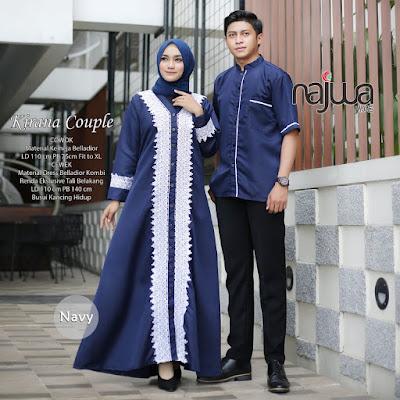 Model Baju Couple Muslim Terbaru 2020