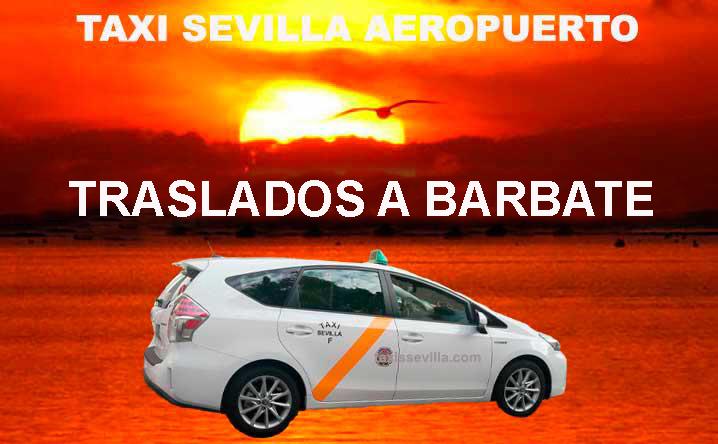 ¿Cuánto cuesta un taxi de Sevilla a Barbate?