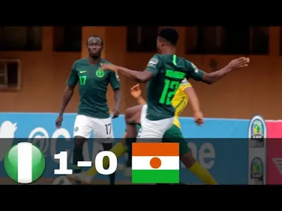 Niger vs Nigeria 0-1 Football Highlights & Goals AFCON 2019