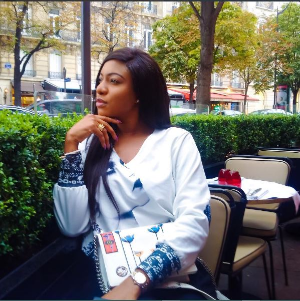 POPULAR NOLLYWOOD ACTRESS CHIKA IKE SHARES PHOTOS FROM HER PRE-BIRTHDAY VACATION IN PARIS