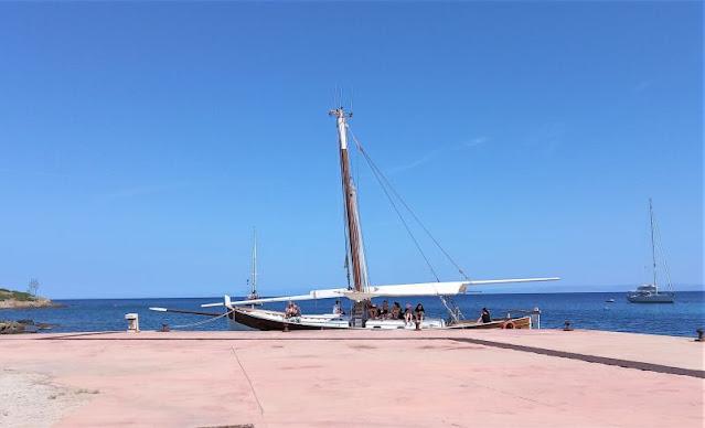 veliero Cala d'Oliva Asinara