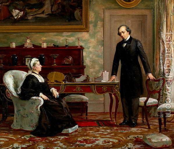 queen victoria and benjamin disraeli relationship trust