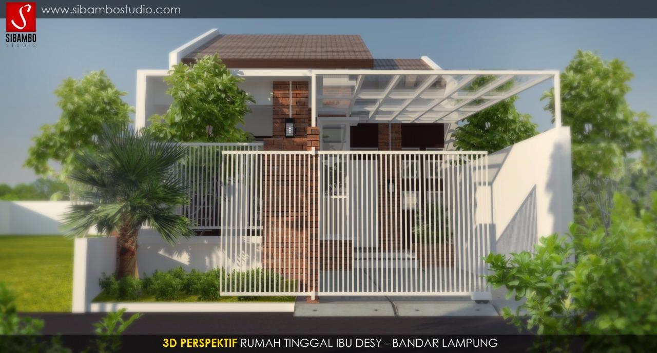Desain Rumah Minimalis Modern Lahan 6 20 Meter Tampil Cantik