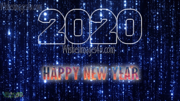 Happy New Year 2020 HD Pics With Sparkling Background  Download Free