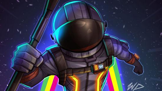 Fortnite Battle Royale - Astronaute Sombre - Quad HD 1440p